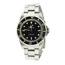 Rolex Submariner Spider Dial Stainless Steel Watch 5513