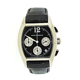Girard Perregaux Richeville Chronograph 18K White Gold Watch 2765