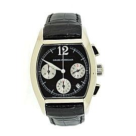 Girard Perregaux Richeville Chronograph 18K White Gold Watch 2765