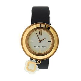 Van Cleef & Arpels Charms 18K Rose Gold Watch