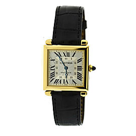 Cartier Tank Obus 18K Yellow Gold Watch 2380