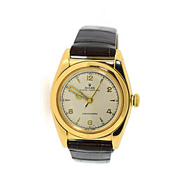 Rolex Oyster Chronometer 14K Gold Watch 3131