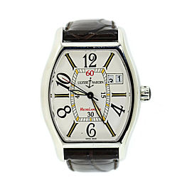 Ulysse Nardin Michaelangelo Big Date Stainless Steel Watch 233-48