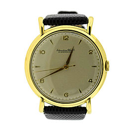 IWC Vintage 18K Yellow Gold Watch