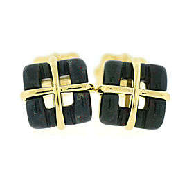 Tiffany & Co 2002 18K Yellow Gold Cufflinks