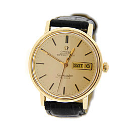 Omega Seamaster DeVille Tiffany & Co Dial Vintage Gold Plated Watch