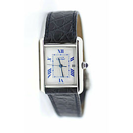 Cartier Must De Sterling Silver Watch 2414