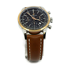 Breitling Transocean Chronograph 18K/Stainless Steel Watch UB0152