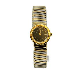 Bvlgari Tubogas 18K Tri Color Gold Watch BB23