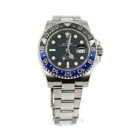 Rolex GMT-Master II Batman Stainless Steel Watch 116710BLNR