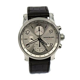 Montblanc Timewalker Chronograph UTC Stainless Steel Watch 107065