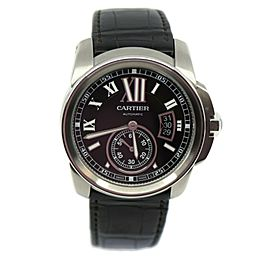 Cartier Calibre Stainless Steel Watch 3389