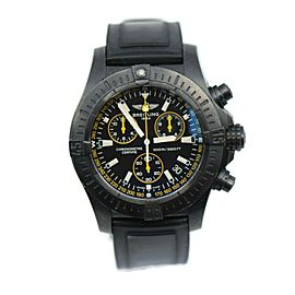 Breitling Avenger Seawolf Chronograph Blacksteel Watch M73390