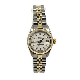 Rolex Datejust 18K/Stainless Steel Watch 6917