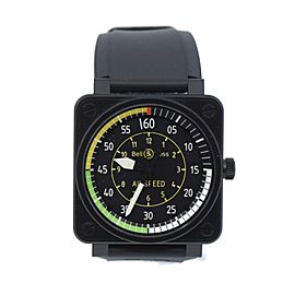Bell & Ross Aviation Airspeed Stainless Steel Watch BR01-92