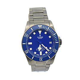 Tudor Pelagos Blue Dial Titanium Watch 25600TB