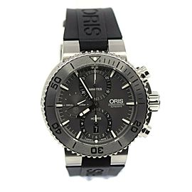 Oris Aquis Chronograph Titanium Watch 7655