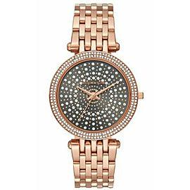 Michael Kors Darci Rose Gold Tone Stainless Steel Watch MK4408