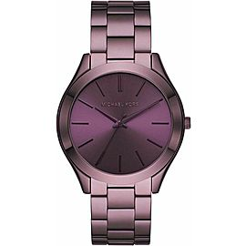 Michael Kors Slim Runway Lavender Stainless Steel Watch MK4415