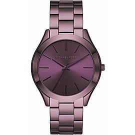 Michael Kors Slim Runway Lavender Stainless Steel Watch MK4415