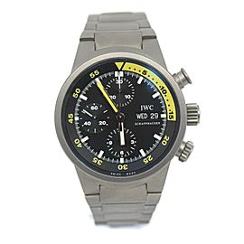 IWC Aquatimer GST Chronograph Titanium Watch IW371903