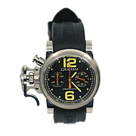 Graham Chronofighter Stainless Steel Watch 2CFAS