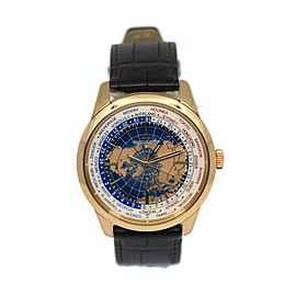 Jaeger LeCoultre Geophysic Universal Time 18K Rose Gold Watch Q8102520