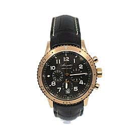 Breguet Type XXI Transatlantique Chronograph 18K Rose Gold Watch 3810