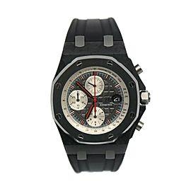 Audemars Piguet Royal Oak Offshore Jarno Trulli Chronograph Carbon Watch 26202AU
