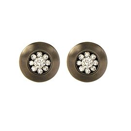 14K White Gold with 0.5ct. Diamond Earrings
