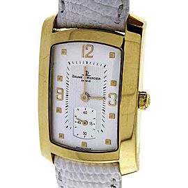 Baume & Mercier 18K Yellow Gold Quartz 26mm Womens Watch