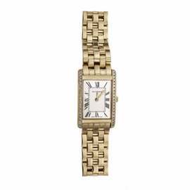 Bucherer 18K Yellow Gold with Diamond Quartz 19mm Womens Watch