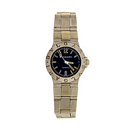 Bvlgari Stainless Steel Automatic 29.5mm Unisex Watch