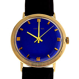 Hamilton 14K Yellow Gold Vintage 33mm Unisex Watch