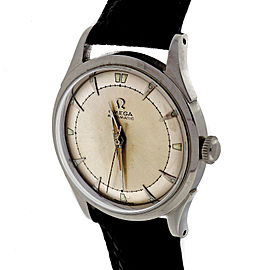 Omega Bumper 351 Automatic Stainless Steel 33mm Womens Watch 1960