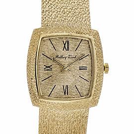 Mathey Tissot 14K Gold Manual 27mm Womens Watch 1960