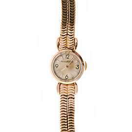 Jaeger Lecoultre 18K Pink Gold Manual 22mm Womens Watch