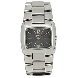 GUCCI 8500L Gray Dial Stainless Steel Quartz Women's Watch