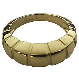 Van Cleef & Arpels 18K Yellow Gold Ring Size 6.75