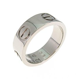 Cartier 18K White Gold Love ring TkM-104