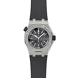 Audemars Piguet Royal Oak Offshore Diver 15703ST.OO.A002CA.01 42mm Mens Watch