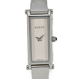 GUCCI 1500L Silver Dial Quartz Ladies Watch