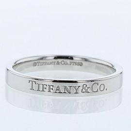TIFFANY & Co. platinum Flat band Ring