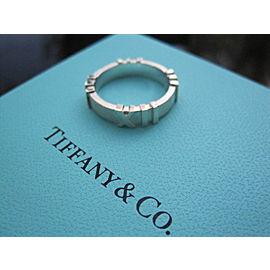 Tiffany & Co Silver RARE Atlas Ring NST-887