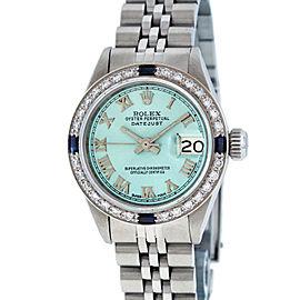 Rolex Datejust 6917 Ice Blue Diamond 26mm Womens Watch
