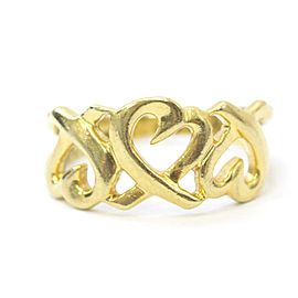Tiffany & Co. 18k yellow Gold Loving heart Ring