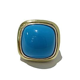 David Yurman Albion Turquoise 18mm Ring