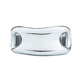 Tiffany & Co. Sterling Silver Elsa Peretti Open Side Ring Sz 6.5