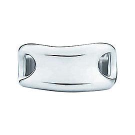 Tiffany & Co. Sterling Silver Elsa Peretti Open Side Ring Sz 6.5