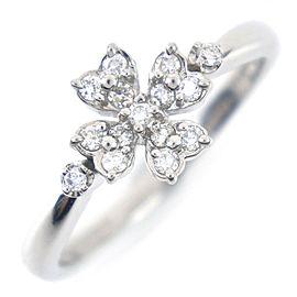 VENDOME AOYAMA Platinum/diamond Christmas limited Ring